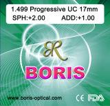 Progressive Cr39 1.499 Regular Corridor 17mm UC Optical Lens