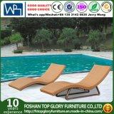 Outdoor Aluminum Frame Rattan Sun Lounger (TG-JW94)