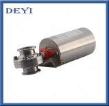 Stainless Steel Pneumatic Actuator Triclamp Butterfly Valve