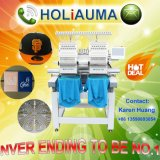Holiauma Top Quality Brand New High Speed 2 Heads Industrial Cap/Garment/Shoes/Towel Automatic Computerized Embroidery Machine Tajima Type