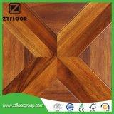 High HDF Wood Laminate Flooring Tile Waxed Waterproof Environment Friendly