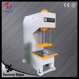 C frame type press machine