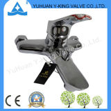 Factory Sales Brass Tap Faucet with Deck Mounted (YD-E006)