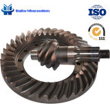 BS6076 6/37 Customized Helical Bevel Gear Rear Drive Axle Car Truck Spiral Bevel Gear