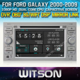 Witson Car DVD for Ford Galaxy 2000-2009 Car DVD GPS 1080P DSP Capactive Screen WiFi 3G Front DVR Camera