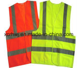 Best Selling Cheap Polyester Reflective Safety Vest/Ce/ En ISO 20471/ ANSI Customization Safety Vest/Good Price Colorful Traffic Safety Vest