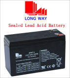 12V7.5ah Used for Solar System