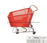 Plastic Pull Hand Trolley Shopping Bag with Wheels (YD-E)