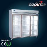 1500L Showcase Gn Series Kitchen Upright Refrigerator (DBQ1500)