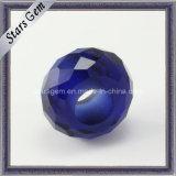 Fancy Cut Round Shape Tanzanite Blue Synthetic Gemstone