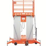 8m Semi-Electric Aerial Work Platform Awp8-2000 (double mast)