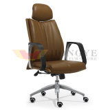 Tea Color Executive High Chair Adjust Height Office Furniture (HY-118A)