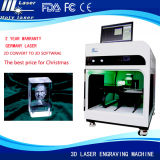 Christmas Gift Engraver Machine 3D Laser Crystal with Photo Frame Inside Engraving Machine Price (Professional factory) Hsgp-2kd