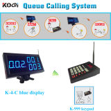 Queue Call System Calls Used in Fast Food Kitchen Room, Kfc