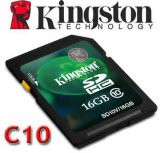 Original High Quality Kingston 16GB SD Card Class10 (KG-0053)