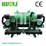 Water Cooling Water Chiller Unit, Industrial Water Cooled Screw Chiller Price #