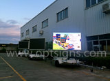 En12966 P10 DIP Outdoor Trailer Mounted Advertising LED Screens