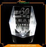 Hot Sale 3D Design Crystal Blank Trophy Awards