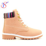 2016 New Style Women Work Boots Shoes for Job with Quick Release (SVWK-1609-028 PINK)