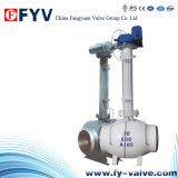 (ISO9001) Electric Buried Long Arm Fixed Ball Valve