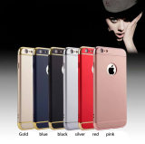 3 in 1 Electroplated Mobile Phone Case 3 in 1 Plating Phone Case for iPhone 7