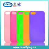 TPU Curve Colorful Smart Mobile Phone Case for iPhone 5s