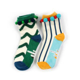 Womens Cotton Happy Socks with Pompom (KA0141)