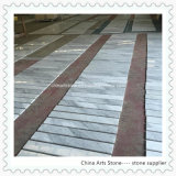 Chinese White Marble Tile for Floor Step
