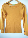 Solid Color Comfortable Skinny Long-Sleeved T-Shirt Outwear