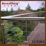 DIY Stainless Steel Cable Railing for Balcony and Deck (SJ-S066)