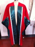 Phd Regalia Gown UK Style with Strip
