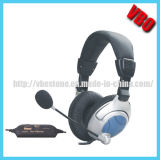 Hot Selling Bass Vibration Headset with Microphone for Computer Headphone