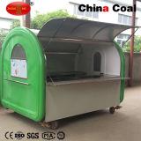 Mobile Catering Fast Food Cart Trucks / Snack Food Vending Trailer Cart