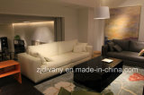 2016 Italian Modern Style Fabric Leather Sofa (D-72)