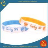 Customized Logo Silicone Wristbands with High Quality at Low Price