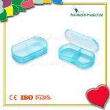 2 Compartments Mini Pill Box