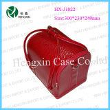 Leather Cosmetic Jewellry Nail Beauty Case (HX-J1022)