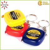 Custom Logo Plastic Ruler Key Chain Factory