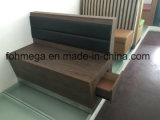 Vintage Rustic Style Timber Restaurant Seating Bench with Drawer Storage
