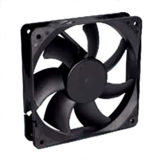 High Air Impedance DC12025 Cooling Fan for High Temperature Environment