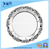 Fashion Home Decor 8inch Stainless Steel Sublimation Plate
