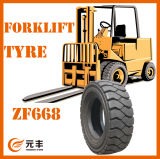 Forklift Tire, Trailer Tyre, Rubber Wheel