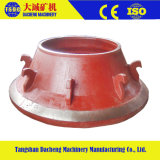 High Manganese Customized Casting Cone Crusher Parts