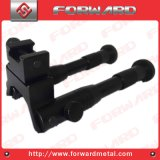 3 Inchtactical Bipod for Air Rifle Airgun Airsoft Gun Dragon Claw Clamp-on Feet Steel Stand