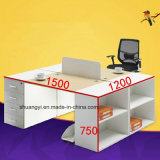 4 Divisions Office Furniture Modern Office Desk Drawers Executive Desk