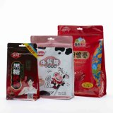Customized Plastic Flexible Laminate Food Quad Seal Doypack for Candies
