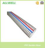 PVC Plastic Reinforced Steel Wire Hose Water Powder Hose Pipe