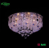 Colorful Glass LED Crystal Glass Ceiling Light