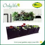 Onlylife Felt Economical Movable Vertical Wall Planter Hanging Planter