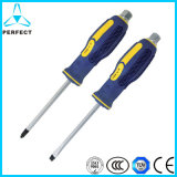 Chrome Vanadium Alloy Steel Slotted and Phillips Go Through Screwdriver